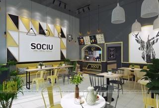 Thiết kế - Thi công Quán Trà sữa SOCIU - LẠNG SƠN