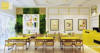 Thiết kế quán cơm Bento - Hải Phòng