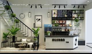 Thiết kế - thi công quán trà sữa Alishan tea - Hà Giang