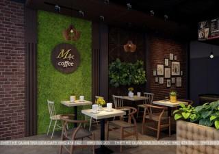 THIẾT KẾ QUÁN CAFE - MỘC COFFEE - HƯNG YÊN