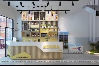 Thiết kế quán trà sữa FULACHA