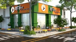 Thiết kế - Thi công Quán Trà Chanh MT BOX - BẮC NINH