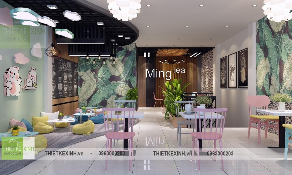 Thiết kế nội thất hiện đại tại KEANGNAM