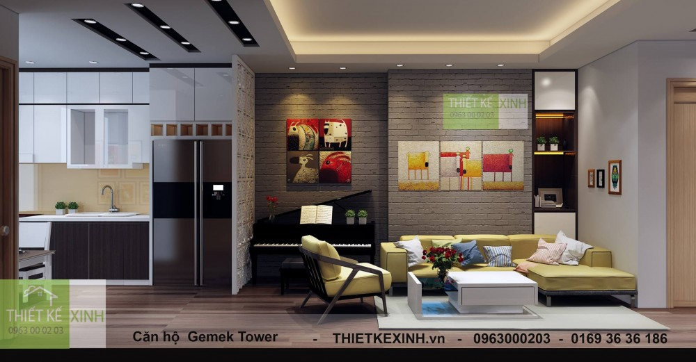 căn hộ A - Gemek Tower