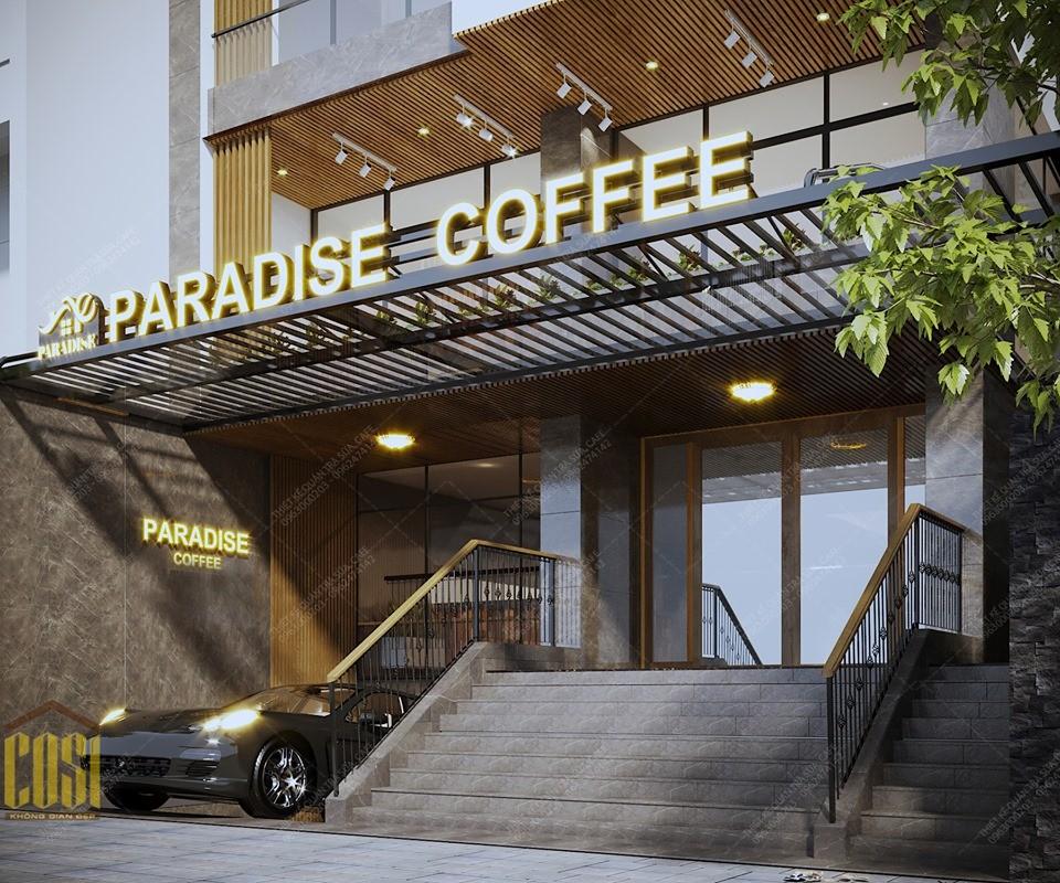 Thiết kế - Thi công Quán PARADISE COFFEE ĐÀ NẴNG