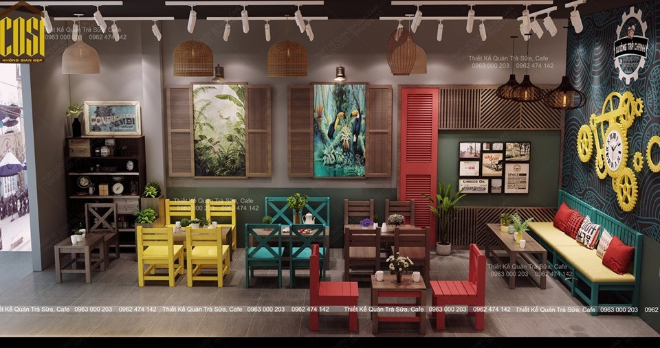 Thiết kế - Thi công Quán Trà Chanh